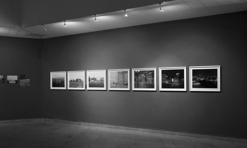 "7 artworks from the series: Budapest 4x5"" (2014). 7 prints fromArchive inkjet print, mounted and framed. size: 80x62cm. ed. 5 + 2AP"